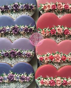 25 Ideas Cookies Wedding Buttercream Frosting For 2019 Lace Cookies, Flower Cookies, Heart Cookies, Royal Icing Cookies, Cupcake Cookies, Sugar Cookies, Wilton Royal Icing Recipe, Cupcakes, Valentines Day Cookies