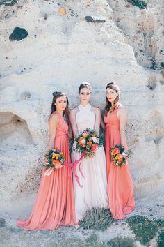 Bridalshower & Rock'n Roll auf Santorin ANJA SCHNEEMANN http://www.hochzeitswahn.de/inspirationsideen/bridalshower-rocoll-auf-santorin/ #wedding #inspiration #bridesmaids