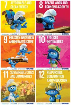 International Happiness Day and Team Smurfs Team Up to Support Sustainable Development Goals Sustainable Schools, Sustainable City, Sustainable Development, Mom Quotes From Daughter, Mom Daughter, United Nations Foundation, Student Of The Month, International Day Of Happiness, Global Awareness