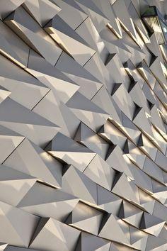 arkitekcher:    The Titanic Belfast: Facade / Spanwall  Location: Belfast, United Kingdom