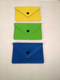 Bibbi Ordning & Reda Genuine Leather Business Card Wallet #OrdningReda