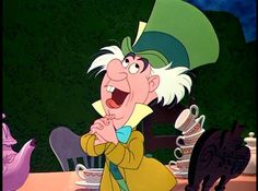 November 17, 2014. Today's letter was from The Mad Hatter. What a fun hat story time he has planned!!