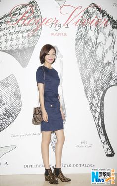 Chinese actress Yuan Shanshan at fashion event in Beijing  http://www.chinaentertainmentnews.com/2015/11/yuan-shanshan-at-fashion-event.html
