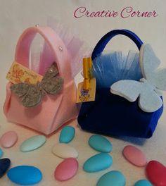 Creative Corner : Cestini in feltro