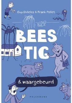 Waanzinnig & waargebeurd - Guy Didelez - Frank Pollet Tsunami, Cartoons, Family Guy, Van, Guys, Comics, Film, Cover, Books