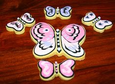 Butterfly Cookies Step by Step Tutorial
