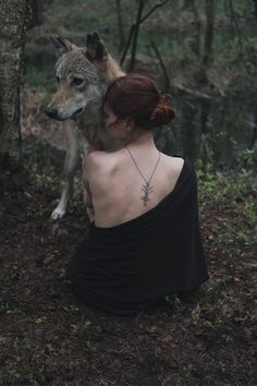 1x - * by Olga Barantseva Wolf Photography, Fantasy Photography, Portrait Photography, Fantasy Magic, Dark Fantasy, Wolf Hybrid, Wolves And Women, Photo Vintage, Wolf Love