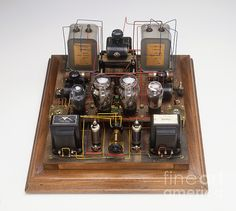Home-made Radio Amplifier, 1920s by Clive Streeter / Dorling Kindersley / Science Museum, London