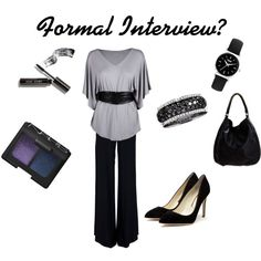 Formal Interview, created by emilydelaney on Polyvore