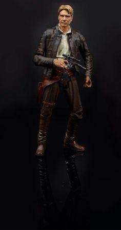 Force Awakens Han Solo action figure