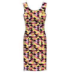 M6887, Misses' Dresses
