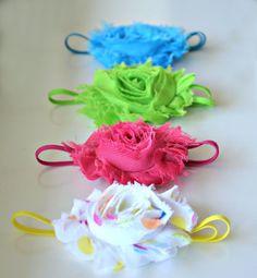 Set of 4 Lovely Brights Headbands
