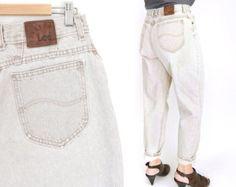 SZ 10 L hoch taillierte Wrangler MWZ Mom Jeans von SadieBessVintage