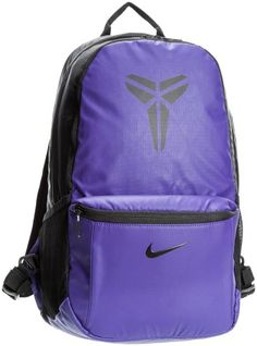 8ee4e200b3f6 NIKE Unisex MAX AIR KOBE Basketball Backpack Bookbag Purple-Black