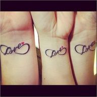 matching tattoos for mom and daughters.