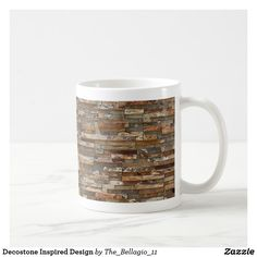 Decostone Inspired Design Coffee Mug - stones diy cyo gift idea special Personalized Products, Mug Designs, Drinkware, Coffee Mugs, Design Inspiration, Office Gifts, Inspired, Deco, Cool Stuff