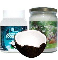 A healthy fat and much more than that, coconut organic oil is literally good for...everything; from cooking healthy to having a glowing skin and stong hair.Get coconuty! Healthy Fats, Healthy Cooking, Organic Oil, Glowing Skin, Health Fitness, Coconut, Tableware, Hair, Dinnerware