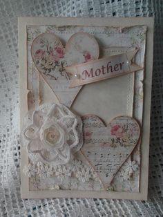 Lace & Pearls Handmade Creations* Mom's Card <3