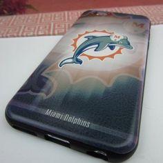NFL Football Miami Dolphins Apple iPhone 6 Plus 3D Plastic Case ...