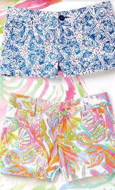 Lilly Pulitzer Shorts - various lengths and styles available