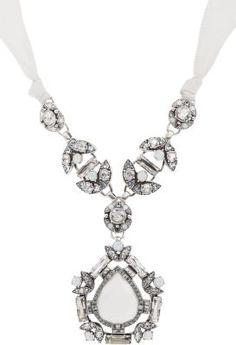 Lanvin Barbara Pendant Necklace