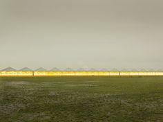 The Third Day - Henrik Spohler Paint Photography, Gras, Green Plants, Agriculture, Surrealism, Sci Fi, Sunset, Landscape, Architecture