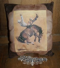 Bronco Pillow - $40.00