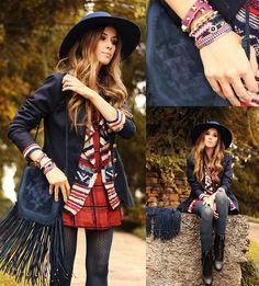 Flávia Desgranges van der Linden - Displicent Dress, Haes Cardigan, Vintage Blazer, Simone Camille Bag, Miss Be Bracelets - Once I was