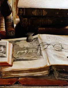 Love, love, love ~ old books