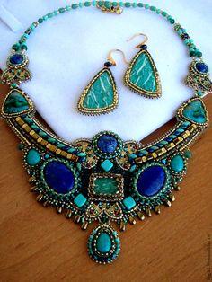 """Купить Колье """"Истамбул"""". - восточное украшение, восточный стиль, восточный орнамент, восточные мотивы"""