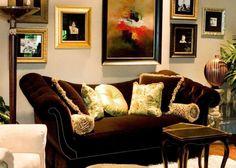 Family room by Barbara Owens interiors
