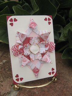 Cartas de jogar com dobragens IMG_1268 by paperfacets, via Flickr