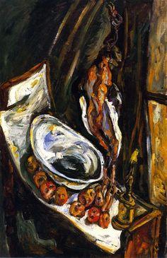 Chaim Soutine, Still Life with Pheasant on ArtStack #chaim-soutine #art