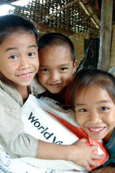 """World Vision~ """"You can't change the world but you can change the life of a child.""""  ❤"""