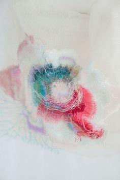 Yumiko Arimoto - Threads Colour and Pattern inspiration