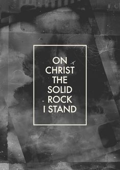 """The Solid Rock- Edward Mote (Hymn) [ 1834 ] From the album""""The Solid Rock"""" by Joseph Garlington 113 / 365 *Click here to visit """"The Worship Project!"""""""