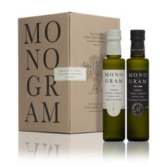 A wide spectrum of distinctive notes with a high aroma complexity reflects the exquisite character of MONOGRAM double pack edition. Greek Olives, Monogram Gifts, Fine Dining, Olive Oil, Unique Gifts, Triangle, How To Make, Crete, Identity
