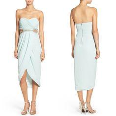 TFNC Catalina Embellished Strapless Midi Dress #dress #tubedress #formaldress #womenfashion