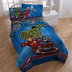 Marvel Comics 'Avengers' Bed in a Bag with Sheet Set