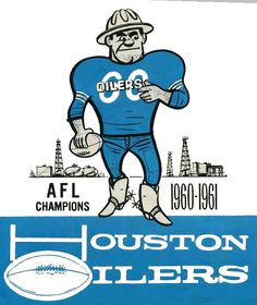 Houston Oilers Logo Wallpaper | Goodies : Houston Oilers | NFL Book