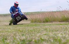 Watch Extreme Lawnmower Racing With Kimi Raikkonen (VIDEO)