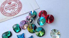 Swarovski Crystals - Accessories for Stars Swarovski Crystals, Stars, Accessories, Sterne, Ornament