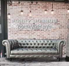 Singapore cheapest chesterfield sofa     Http://fb.com/funnymuseumbydanielwang Industrial interior