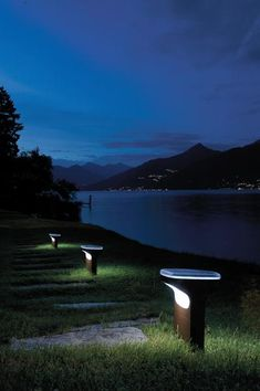 Sky by Alfredo Häberli, a wire-free solution for outdoor lighting
