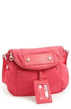 Wardrobe staple - Bright coral Marc Jacobs crossbody