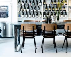 The place to be in Copenhagen right now: Atelier September, a cafe/shop hybrid in the city's Gothersgade neighborhood that attracts an in-the-design-know c