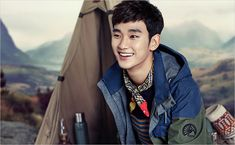 BEANPOLE OUTDOOR F/W 2014 Lookbook Feat. Kim Soo Hyun   Couch Kimchi