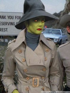 Diana Prince disguised as Witch Hazel...