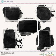 Masked Frames 2 by SCD #SouthernCreekDesigns #SCD #PDW #Plaindigitalwrapper #digitalscrapbook #scrapbook #frames #maskedframe #element #ephemera