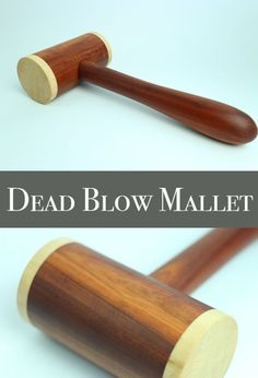 Make a Dead Blow Mallet on the Lathe